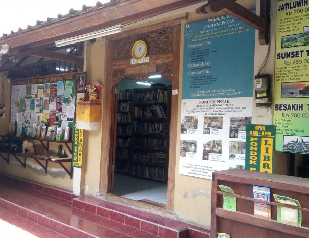 Entrance to Pondok Pekak Library Bali